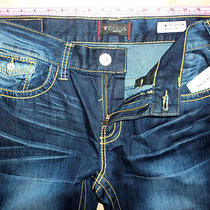 Guess Los Angeles-Rancho Fit -Relaxed Boot Cut-Low Rise  -Sz33 X 32 Photo
