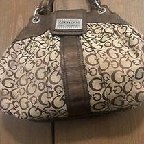 Guess Los Angeles Signature Denim Hobo Shoulder Handbag Guess Bag Reduced Photo