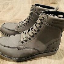 Guess Mans Boots Gray Size 9 Photo