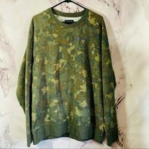 Guess Mens Army Pullover Sweatshirt Sz Xl Photo