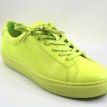 Guess Men's Batrix Low Top Sneakers Neon Yellow - Choose Size Photo