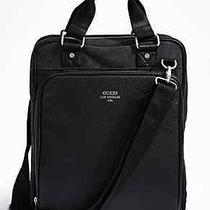 Guess Men's Computer Leather Bag Photo