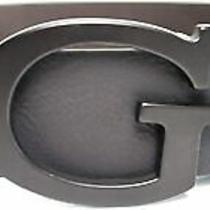Guess Men's G Logo Reversible Belt 11go02xz22 Black/brown New Nwt Photo