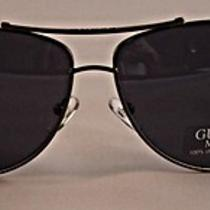 Guess  -  Men's Gun Metal Aviator Sunglasses - Gu6709 Gun-9 Photo