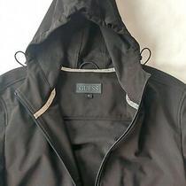 Guess Men's Hoodie Weatherproof Jacketc Black Size Xl. Fits Like a Large  Photo