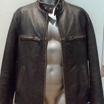 Guess  Men's Leather Jacket Photo