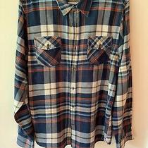 Guess Men's Plaid Shirt Size Large Photo