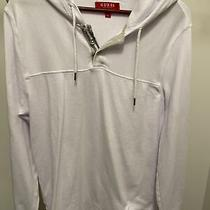Guess Mens Pullover Hoodie (White l) Photo