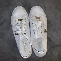 Guess Mens White Logo Sneakers Size 8.5 Photo