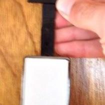 Guess Mens Leather Belt Photo