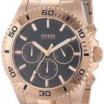 Guess Mens U0170g3 Analog Display Quartz Rose Gold Watch Photo