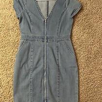 Guess Mini Denim Bodycon Dress Photo