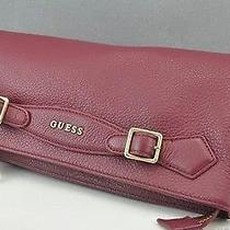 Guess Modern Simplicity Midnight Wine Purse Photo