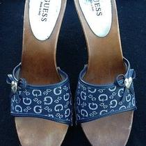 Guess Navy Blue Heels  Photo