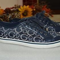 Guess Navy Blue Women's Sneakers-Sz 8.5m Photo