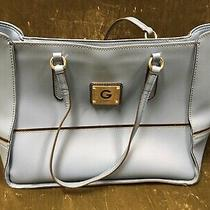 Guess Over the Sholder Large Light Blue Purse Photo