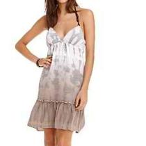 Guess Palm Bark Tracy Lucky Tie Dye Dress Brand Xs 1 Urban Anthro Beach Photo