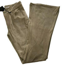 Guess Pants Womens 27 Inchraw Khaki Charolette Flare Slim Fit Mid Rise Jeans  Photo