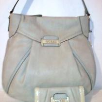Guess Parisian Chic Hobo Handbag With Matching Slim Clutch Wallet Nwt Photo