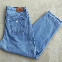 Guess Pascal 075 Loose Fit Tapered Leg Jeans Size 38 Photo