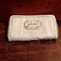 Guess Pearl Croc Wallet- Iphone and Smartphone Compartment Photo