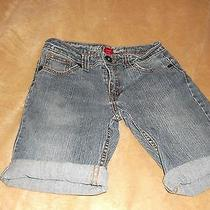 Guess Premium Girls Blue Jean Shorts Size 14 Photo