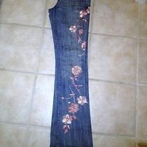 Guess Premium Hand Painted Jeans - Size 26 Photo