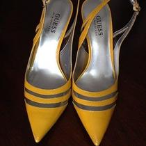 Guess Pumps-Gold Photo