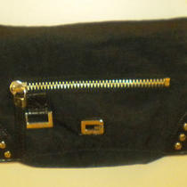 Guess Purse Black and Silver Photo