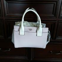 Guess Purse Pink and Gray Handbag Est8mated 1981 Plated Photo