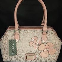 Guess Purse Sac Bag Handbag Blush Floral Group Sway Color  Blush Pink Photo