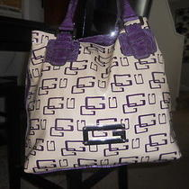 Guess Purse Tote Book Bag  Photo