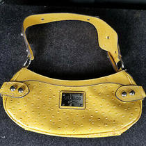 Guess Purse Womens Yellow Nice Used Condition Fast Shipping Lqqk Photo