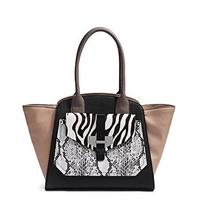 Guess Quinn Privy Tote Multi Color Handbag 2015 Collection Msrp 128 Photo