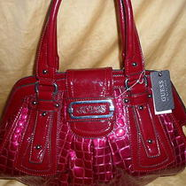 Guess Red Wine Elsa Handbag 118 Photo