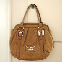 Guess Rocky Tote Bag in Cognac Tan Photo