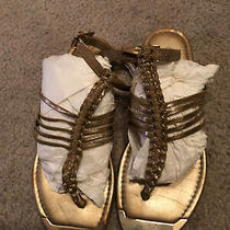Guess Sandals Flats Gold Sz 7 Photo