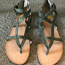 Guess Sandals Size 9 Women Color Army Green  (M) Photo