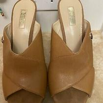 Guess Sandals Wedege Heels Pre Own 8 Photo