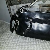 Guess Satchel Bag Purse Black Nwt Shoulder New Photo