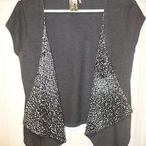 Guess Sequin Vest - Sz M - Price Reduced Photo