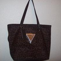 Guess  Sexy Jungle Brown Tote Bag Handbag Purse Nwt Photo