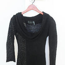 Guess Sheer Knit Sweater Photo