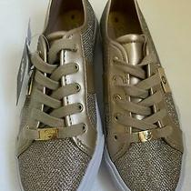 Guess Shoes Gold Color Gbg Los Angeles Tennis Shoes Athletic  Us Size 8 Photo