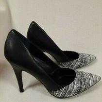 Guess Shoes Size 10 Black/white Dress Shoes Pumps 4 Inch Heels Photo
