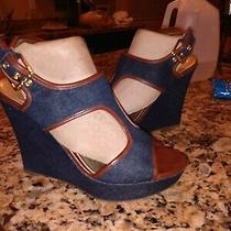Guess Size 7 1/2 Jean Wedges Photo