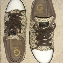 Guess Size 9.5 Sneakers Brown Tan Photo