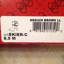 Guess Skier Cognac Boots Sz 8.5 Photo
