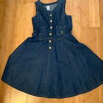 Guess Sleeveless Jean Dress Girls Sz 14 Photo