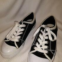 Guess Sneakers Black and White Women's Size 6 Photo